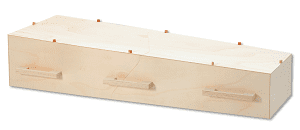16-17 kist ESSTANN eco coffin naturel